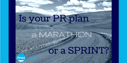 Marathon or Sprint?